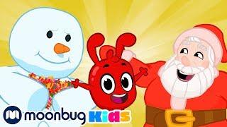Морфл помогает Деду Морозу | Детские мультики | Morphle | Морфл | Moonbug Kids