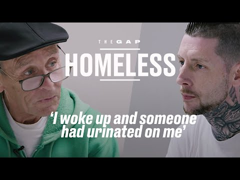Old Homeless Meets Young Homeless | The Gap | LADbible
