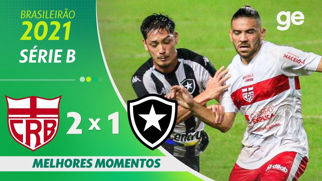 VÍDEO: Gols e melhores momentos da derrota do Botafogo para o CRB em Maceió