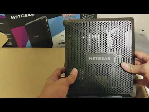 Netgear Nighthawk AC1900 C7000 Cable Modem Router(Xfinity Certified) Unboxing and Review