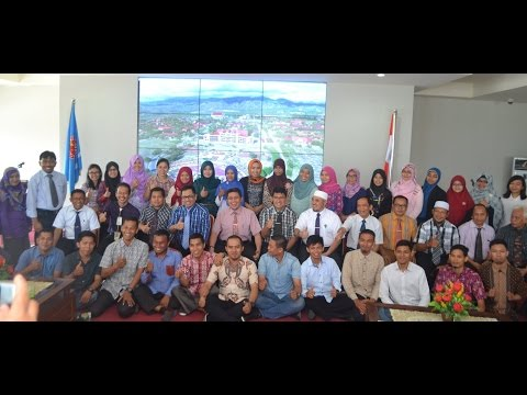 Dok Humas Untad, Penyerahan Dosen Tetap Blu Universitas Tadulako