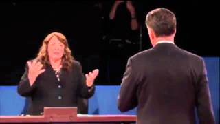 2nd Presidential Debate: Candy Crowley Fact Checks Mitt Romney on Libya Attack, Oct. 16, 2012