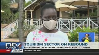 Tourism in the coastal town of Malindi is slowly picking up, after