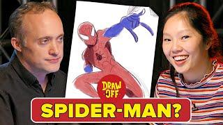Animator Vs. Cartoonist Draw Marvel Characters From Memory