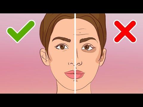 Die Maske für die glatte Gesichtshaut