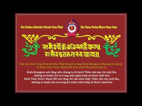 Thần Chú Giải Thoát Thông Qua Sự Nghe và Nhìn Thấy - Ah Ah Sha Sa Ma Ha - Thần Chú Giải Thoát v3