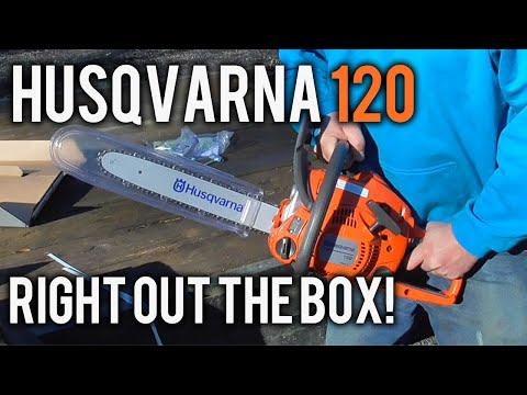 Husqvarna 120 14'' Chain Saw Machine