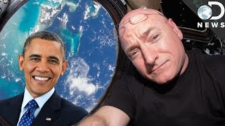 President Obama Explains Scott Kelly's Year In Space