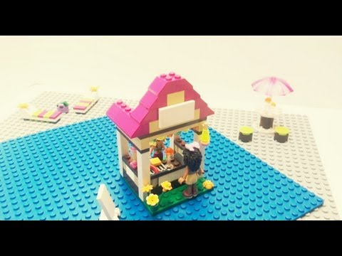 Vidéo LEGO Friends 41008 : La piscine d'Heartlake City
