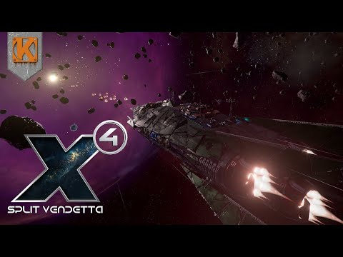 X4: Foundations - Split Vendetta | SPACE PIRATE LIFE | Let's Play X4 Gameplay #1