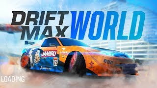 DRIFT MAX WORLD - Gameplay Walkthrough Part 1 Android - Car Drifting Game