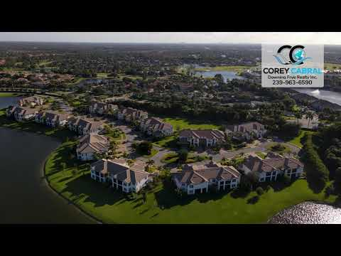 Lely Resort Golf & Country Club Naples FL 360 aerial Real Estate Homes & Condos