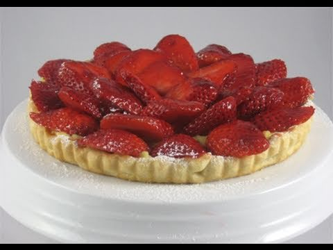 "Strawberry Tart Recipe (Italian) / How-To Video – Laura Vitale ""Laura In The Kitchen"" Episode 33"