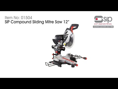 "SIP 01504 2000W 12"" Dual Bevel Mitre Saw"