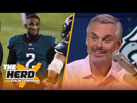 Pederson stole game from Hurts, Steelers VS Browns could be a tire fire — Colin | NFL | THE HERD