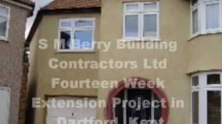 preview picture of video 'How to Build a Two Storey Home Extension in Dartford Kent in Less Than Fourteen Weeks'