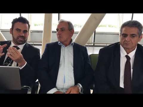 Live com o Prefeito Ayres Scorsatto direto do Aeroporto de Brasília