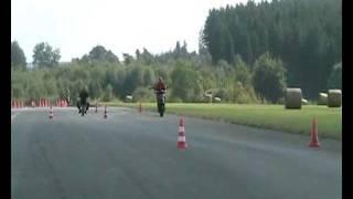 preview picture of video 'DMSB Flugplatz Slalom Höxter Sept. 2008'