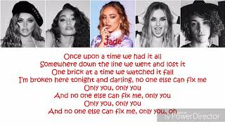 Cheat Codes & Little Mix   Only You (Lyrics + Picture + Color Coded)