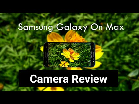 Samsung Galaxy On Max Camera Review
