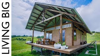 A Stunning Small Home Made From Hemp - Video Youtube