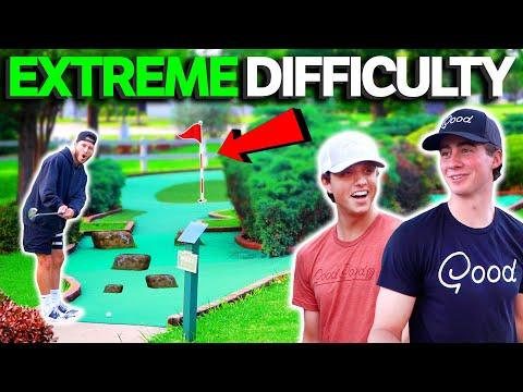 The Hardest Mini Golf Course We've Ever Played! 1v1v1 | GM GOLF