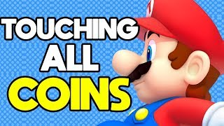 Is it Possible to Beat New Super Mario Bros DS While Touching Every Coin?