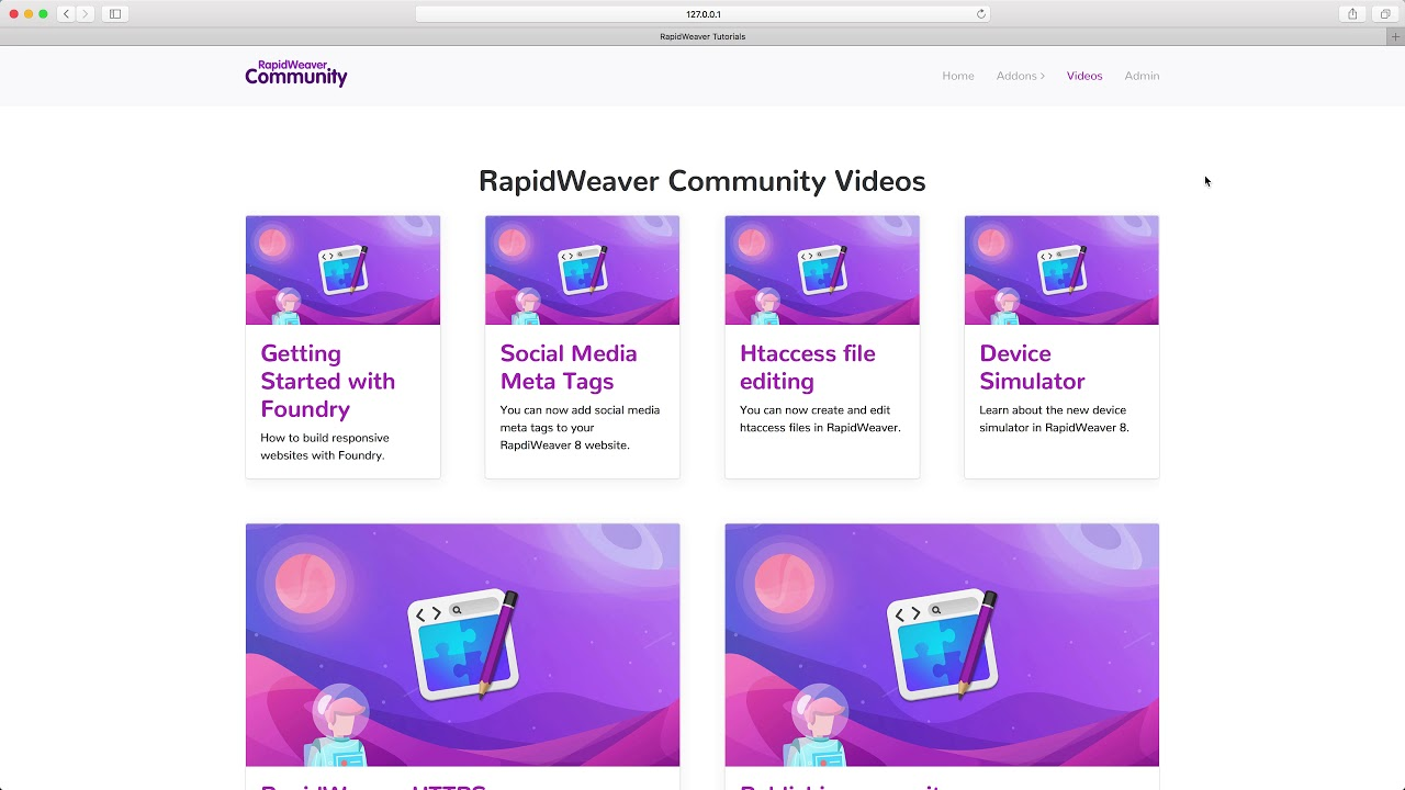 Browser Titles