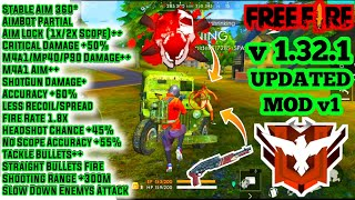 download garena free fire mod apk v1.30.0 (hack auto aim & fire)