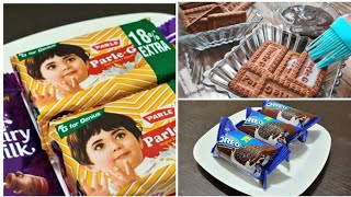 5 min Fireless Cooking Recipe for competition | Soft , Tasty , Fluffy Oreo & Parle G Cake