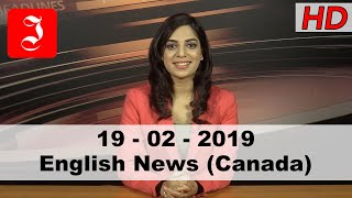 News English Canada 19th Feb 2019