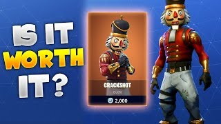 BUYING THE NEW LEGENDARY CRACKSHOT OUTFIT! | Is It Worth It? (Fortnite Battle Royale)