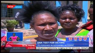 Family members of the Gilgil ill-fated accident await DNA test to identify relatives