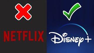 Netflix vs Disney+ | Adiós al Rey del Streaming