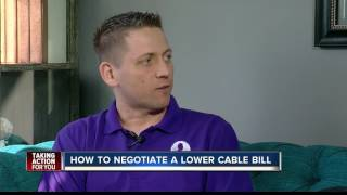 How to negotiate a lower cable bill