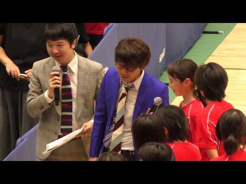 ドリームチームVS女子小学生 バレーボール 三四郎さんせつない営業