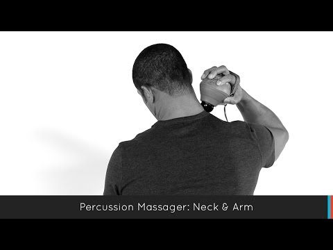 Mercury Percussion Massager with Heat: Neck/Arm
