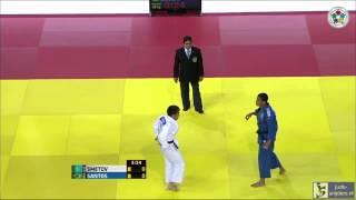 Judo 2013 Grand Prix Almaty: Smetov (KAZ) - Santos (BRA) [-60kg] semi final