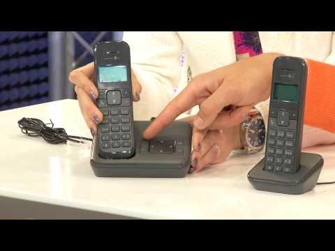 simvalley Schnurgebundenes Retro-Festnetztelefon, schwarz