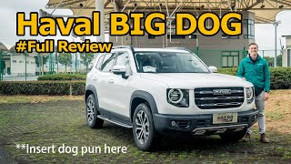 Haval BIG DOG: The Off-roader That Can't Off-road (And Why That's Probably OK)
