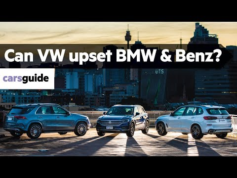 BMW X5 vs Mercedes GLE vs VW Touareg 2019 comparison review