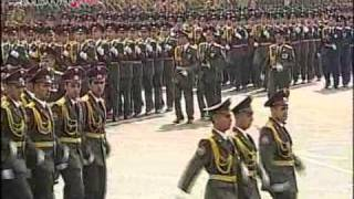 Independence Day. Armenia. Parade on September 21