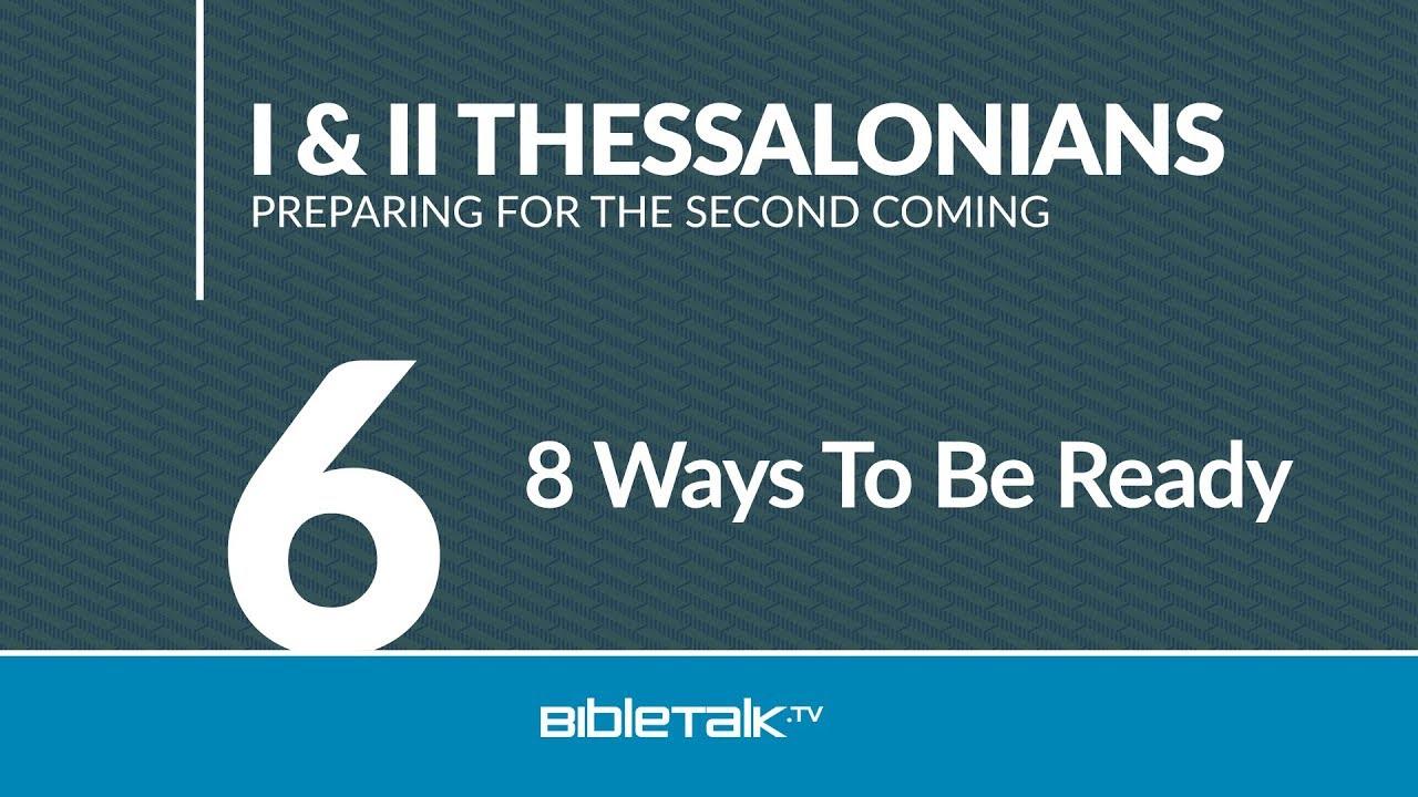 6. 8 Ways To Be Ready