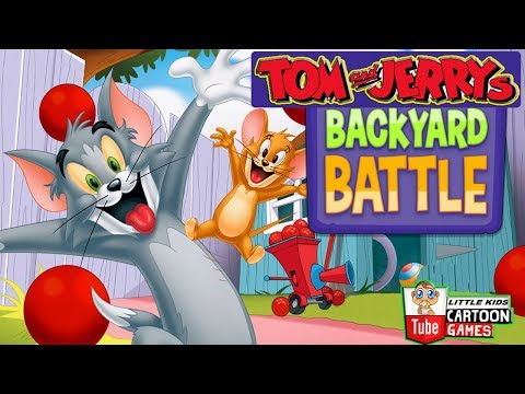 Tom And Jerry - BACKYARD BATTLE 2. Fun Tom and Jerry 2018 Games. Game Bayi