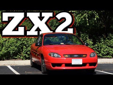 2001 Ford Escort ZX2: Regular Car Reviews