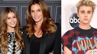 Kaia Gerber's Mom Cindy Crawford WARNS Her To STAY AWAY From Justin Bieber!