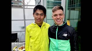 2019 BMO Vancouver Half Marathon - 5th Place (1:07:22)