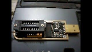 اصغر وارخص مبرمجه لشحن الاكسس والروترات Ch341