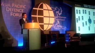 Carlos Moreira keynote at the Asian Pacific  Defence Forum in Singapore