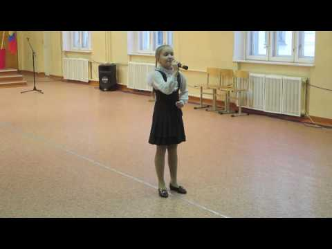 «Я хочу, чтобы не было больше войны!» Слова и музыка  Анны Петряшевой